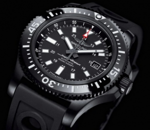 Breitling Superocean 44 Special Replica Watches With Black Rubber Straps