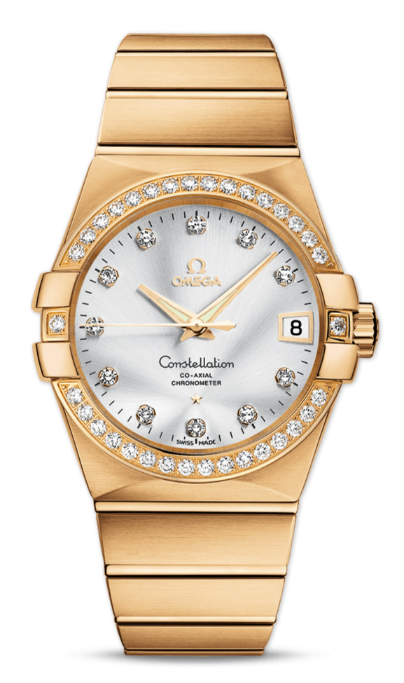 Yellow Gold Cases Replica Omega Constellation Watches