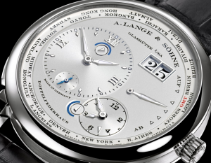 "Platinum A.lange&Sohne Lange 1 Time Zone ""Como Edition"" Fake Watches"