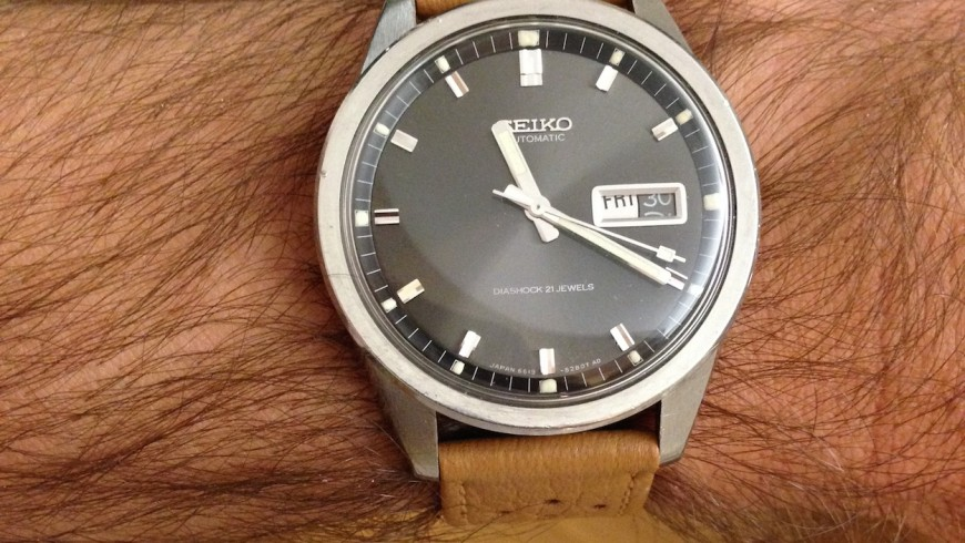 Hot Sale Replica Seiko Sportsmatic Steel Watch Ref.6619-8230
