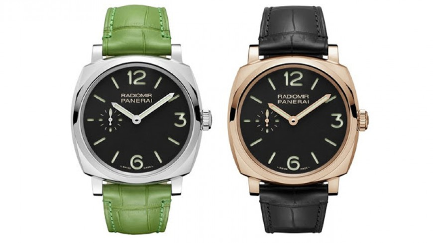 42mm Panerai Radiomir 1940 3 Days Replica Watch PAM00574 and PAM00575
