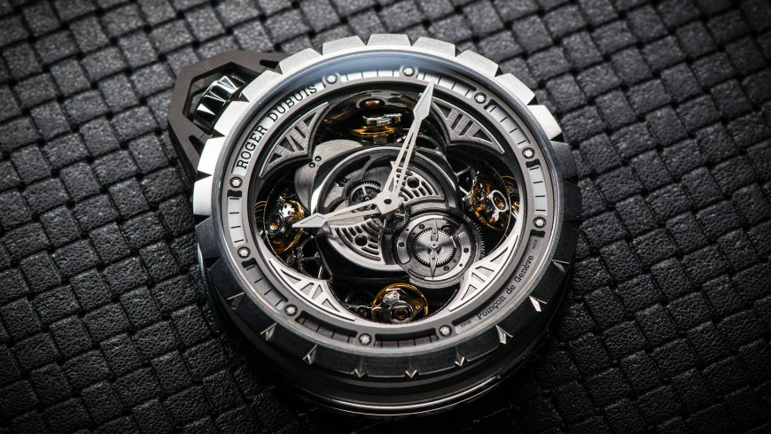 Best roger dubuis excalibur spider skeleton flying tourbillon replica watches