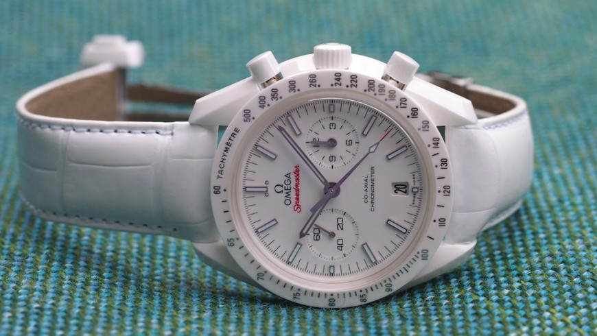 The Omega Speedmaster White Side of the Moon Replica Watch