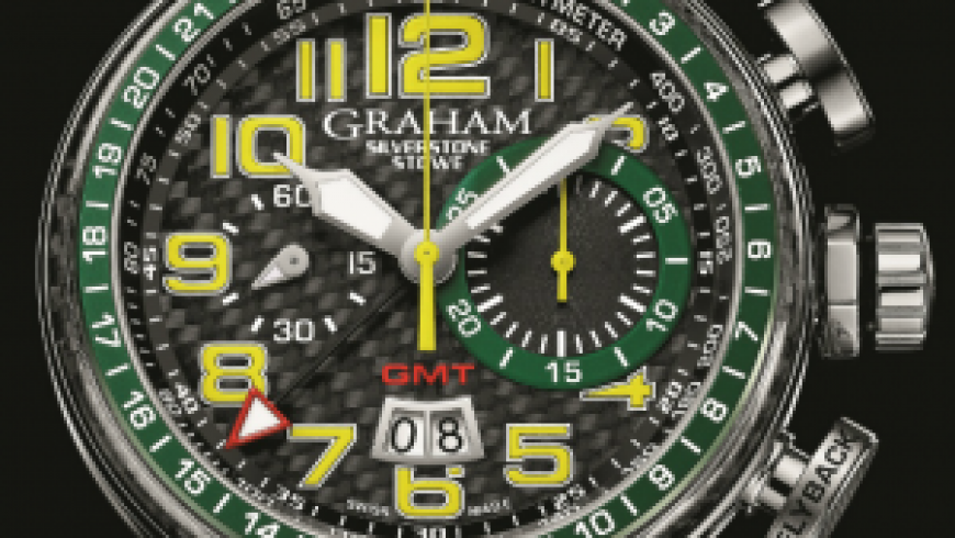 Best Graham Silverstone Stowe GMT Replica Watches for Mens