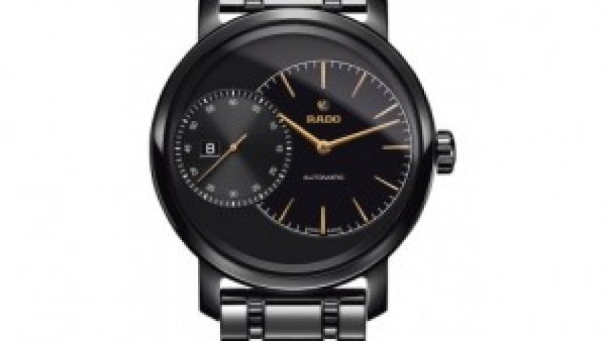 Four Styles Rado Diamaster Grande Seconde Replica Watches For Men