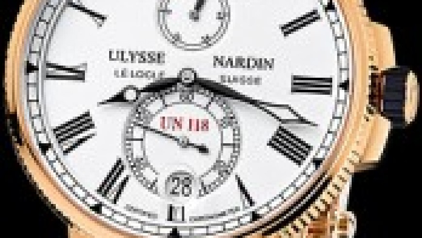Rose Gold Ulysse Nardin Marine Chronometer Replica Watches For Men