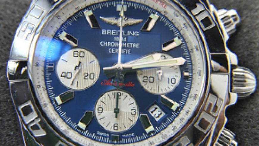 Replica Breitling Chronomat 44 Blue Dial Watches Sale For Men