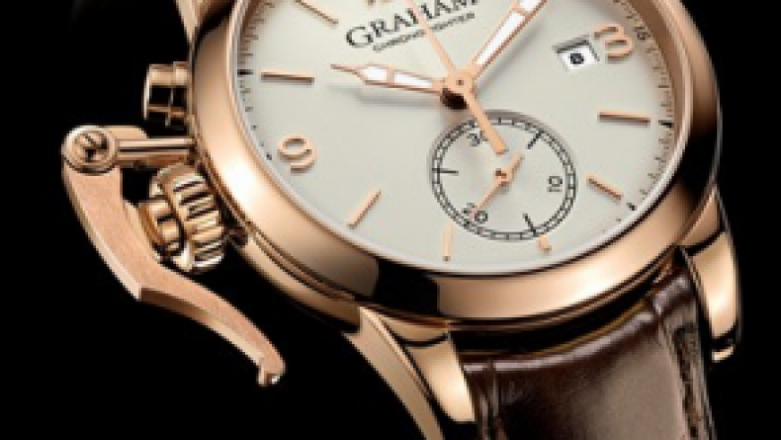 Best graham chronofighter 1695 chronograph rose gold replica watch