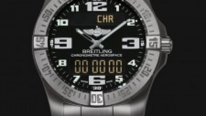 New Style Replica Breitling Aerospace Evo Watches with Arabic numerals markers For Men