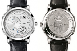 "A.lange&Sohne Lange 1 Time Zone ""Como Edition"" Platinum Replica Watches"
