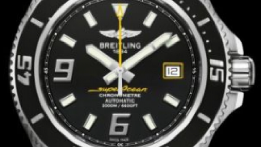 Super Powerful Waterproof Steel Case Breitling Superocean 44 Replica Watches