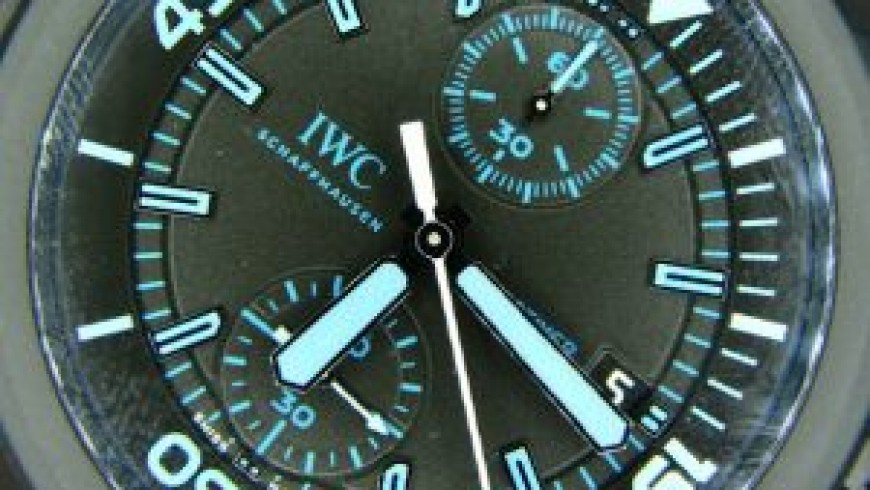 Best IWC Aquatimer Chronograph Special Edition Replica Watches