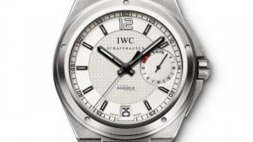 Best White Dial Rubber Strap IWC Ingenieur Replica Watch ref. IW500502