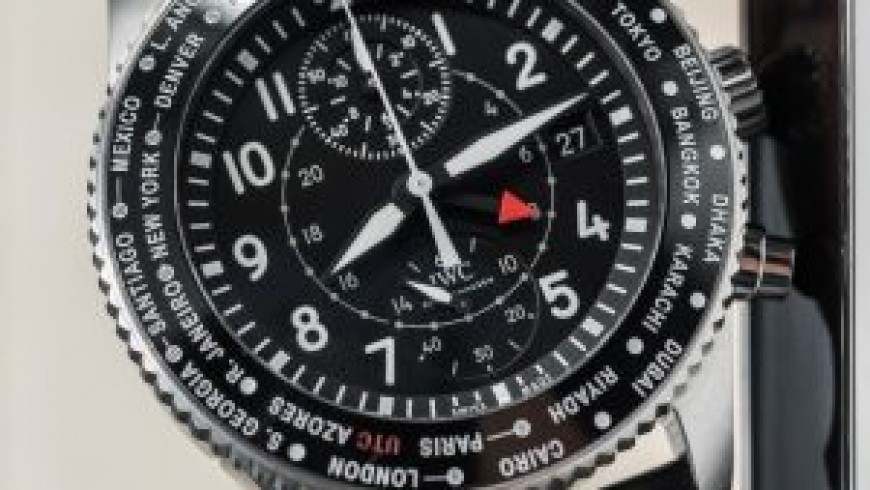 IWC Pilot's Timezoner Chronograph Replica Watches your wise choice