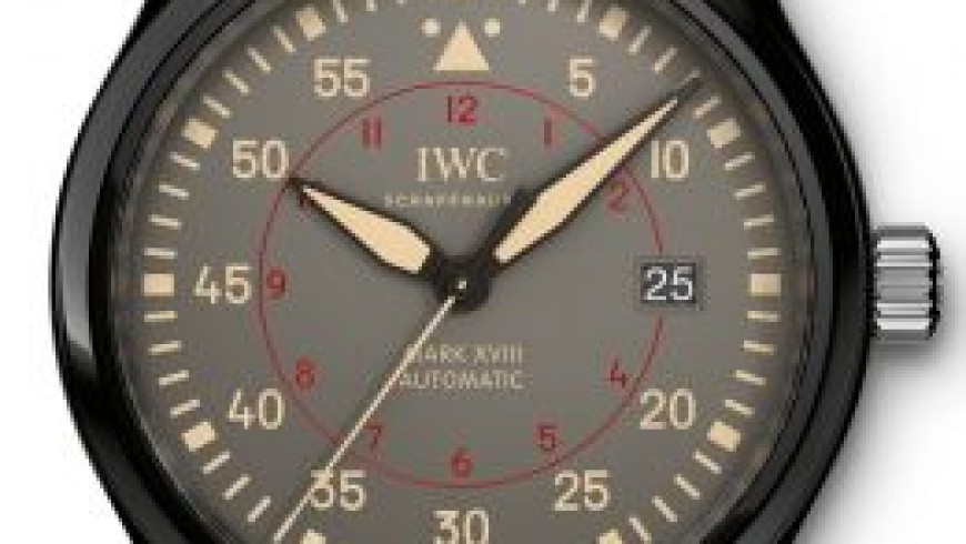 Best iwc pilot's watch chronograph top gun miramar replica watch