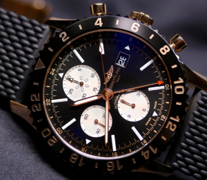 Black Dial 46MM Breitling Chronoliner Limited Replica Watches
