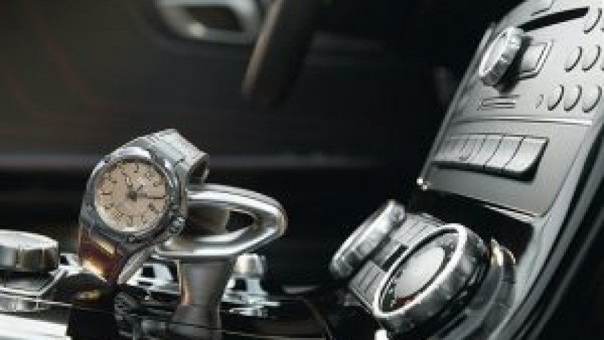 One For The Road: The IWC Replica in an AMG Roadster
