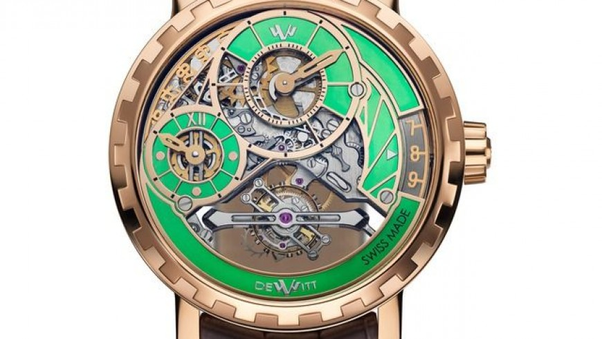New style dewitt academia grand tourbillon replica watch