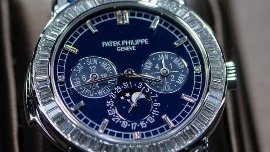 Best patek philippe grand complications diamonds replica watch