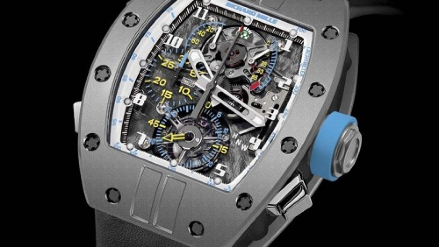 Titanium Case Richard Mille RM 008 LMC Replica Watch