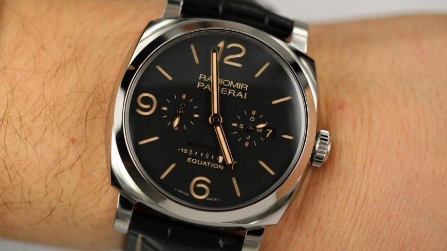 Best panerai radiomir 1940 equation of time 8 days acciaio replica watch