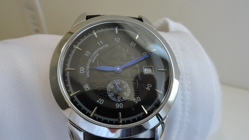Black Dial Vacheron Constantin Overseas Replica Watch