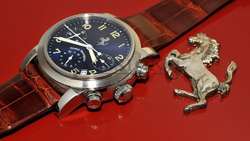 Best Quality Girard-Perregaux Ferrari Chronograph Replica Watch ref. 8020
