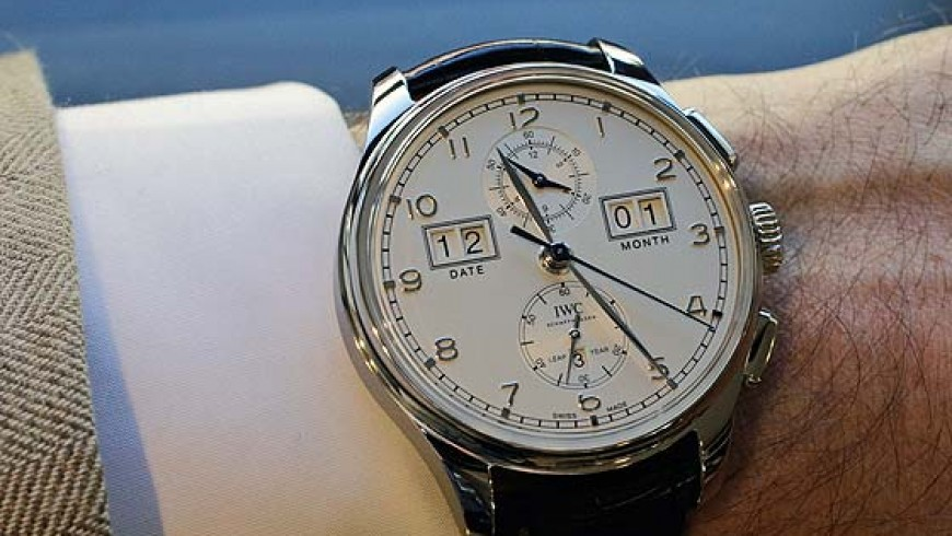 "IWC Portugieser Perpetual Calendar Digital Date-Month ""75th Anniversary"" edition Replica Watch ref. IW397201"
