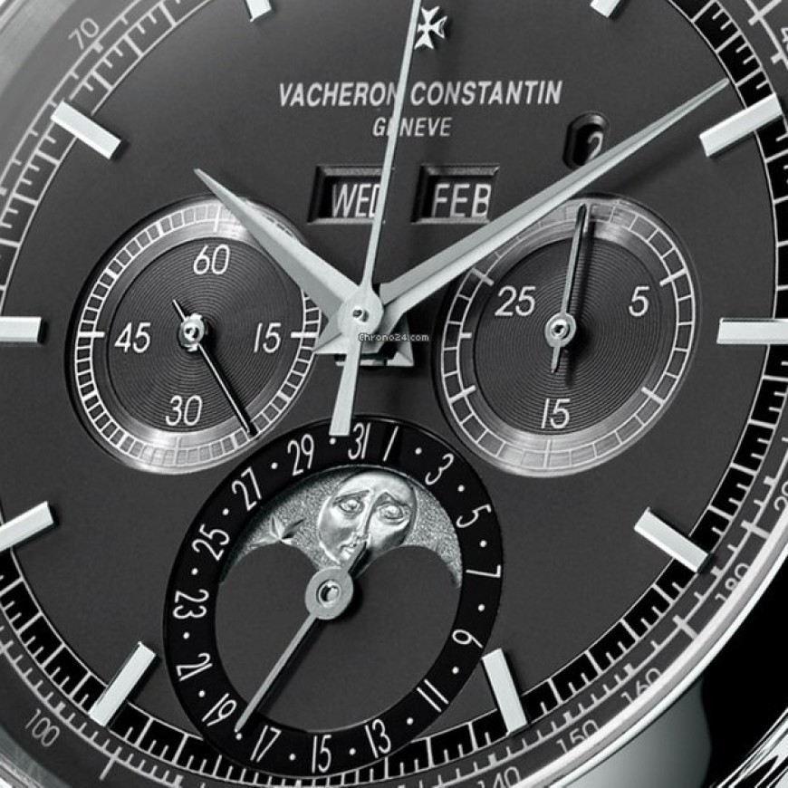 Vacheron Constantin Traditionnelle Chronograph Perpetual Calendar Replica Watch ref. 5000T/000P-B048