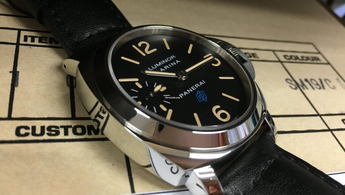 Top Quality Panerai Luminor Marina Logo Replica Watch PAM 631