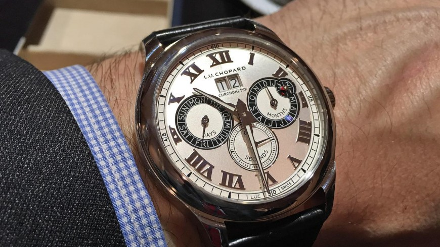 Best Chopard L.U.C Perpetual Twin Replica Watch