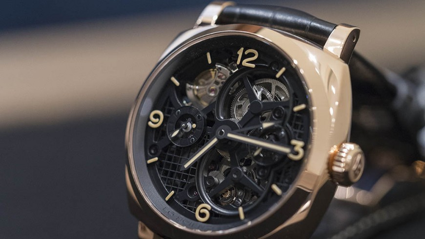 Panerai Radiomir 1940 Tourbillon GMT Oro Rosso Replica Watch