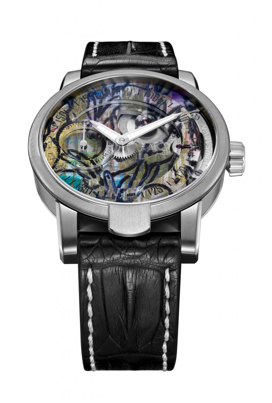 Armin Strom Manual Hunt Slonem Edition Only Watch