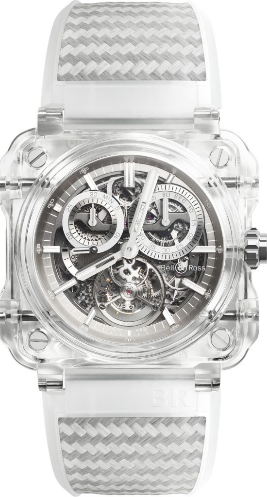 should i buy Fast Focus: Half-Million Dollar Bell & Ross Transparent Tourbillon Sapphire BR-X1 Watch is Out Now Replica For Sale