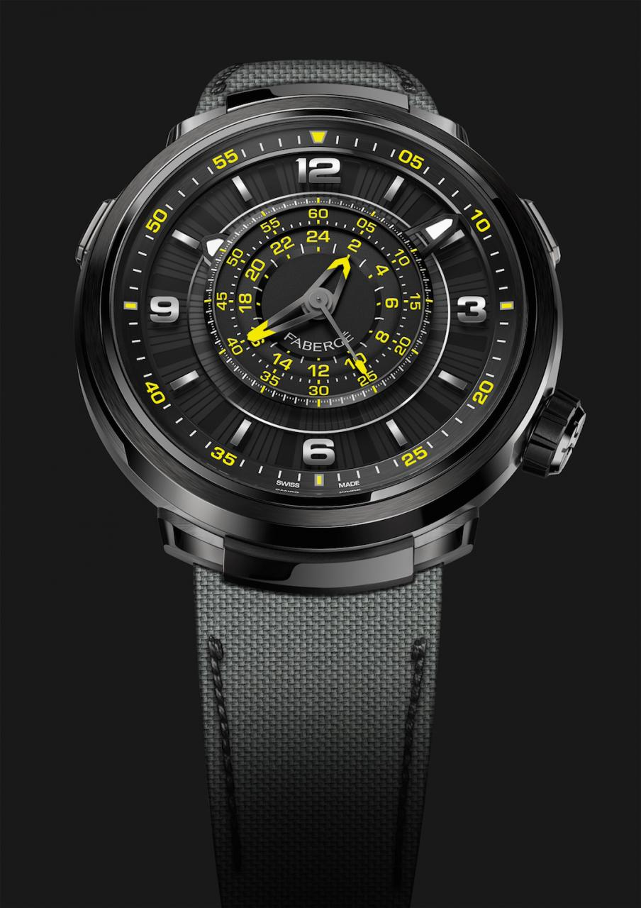 faberge Visionnaire Chronograph If Life Gives You Lemons Only Watch