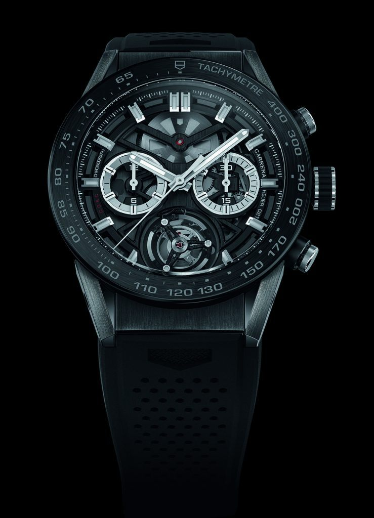 TAG Heuer: Carrera Heuer 02 Tourbillon Chronograph, 2016