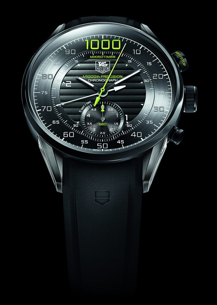 TAG Heuer: Mikrotimer Flying 1000, 2011