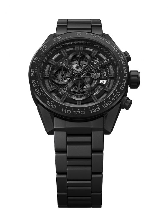 TAG Heuer Carrera Heuer-01 Matte Black Ceramic - soldier