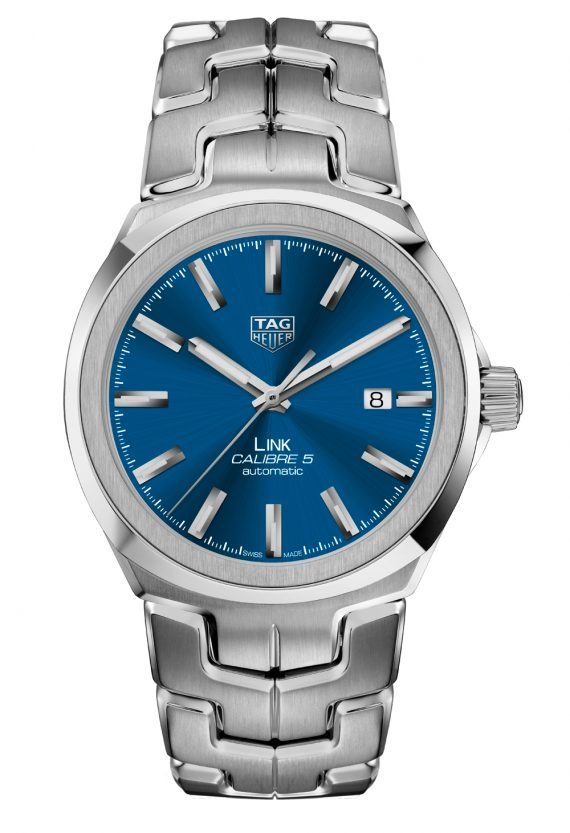 TAG Heuer Link for Men Calibre 5 - blue