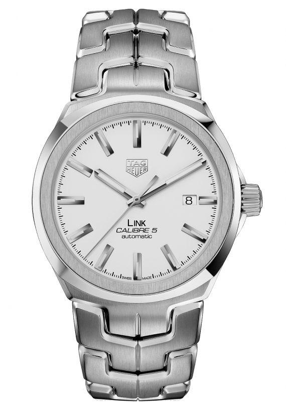 TAG Heuer Link for Men Calibre 5 - silver