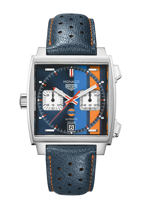 Cheapest TAG Heuer Monaco Gulf Special Edition Makes U.S. Debut at WatchTime New York Grade 1 Replica Watches