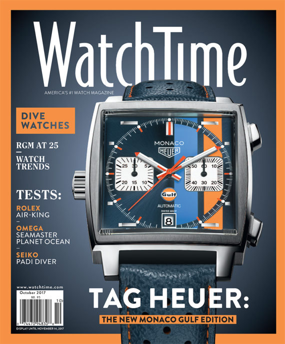 Where Can I Buy WatchTime's September-October Issue Features TAG Heuer Profile, Omega and Rolex Tests Replica For Sale