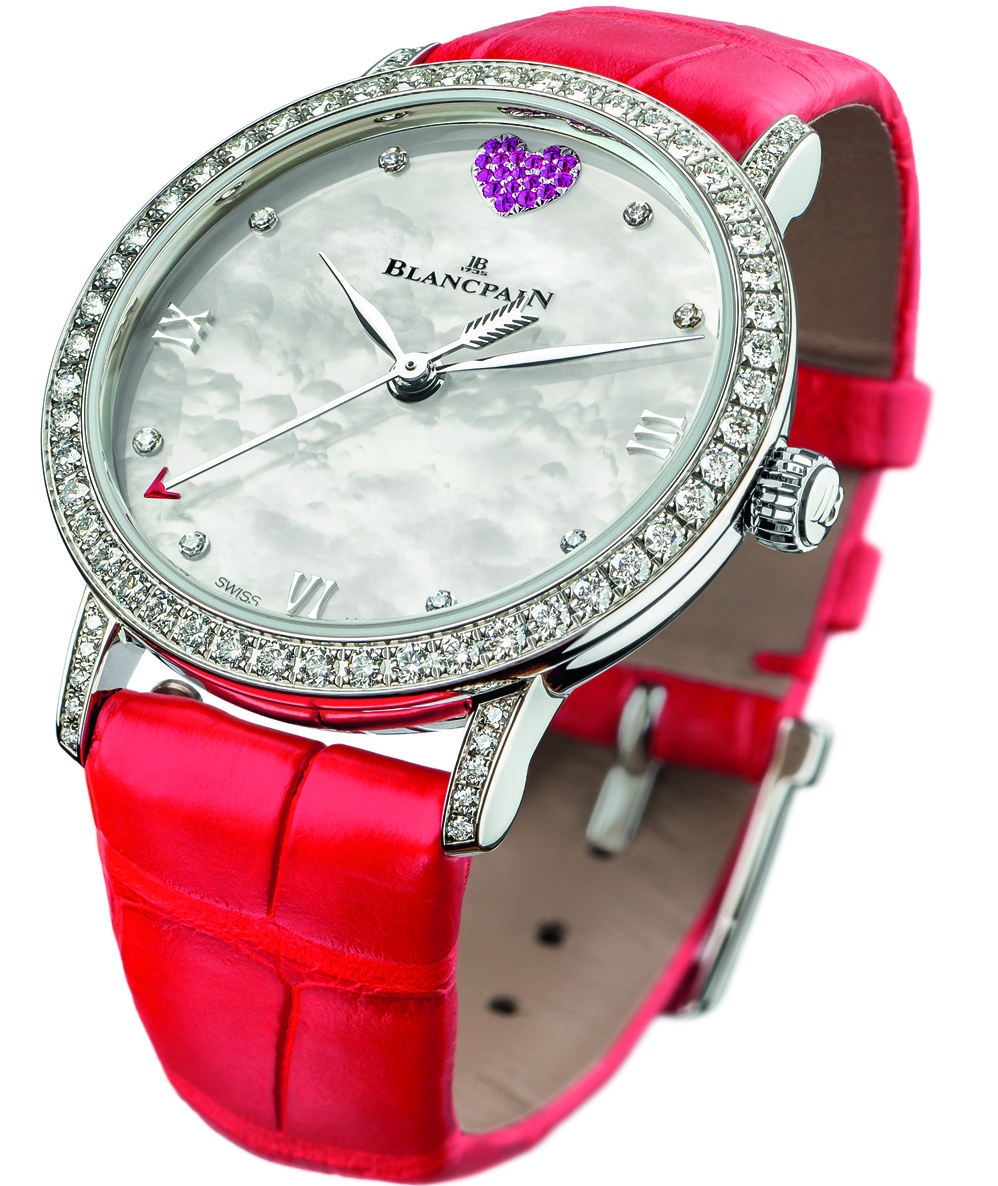 Blancpain St. Valentine's Day Special Edition Watch For The Ladies In Your Life Replica Watches Essentials