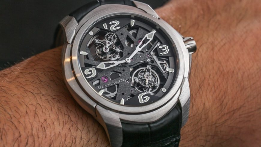 Blancpain L-Evolution Tourbillon Carrousel Watch For 2015 Hands-On Replica At Lowest Price
