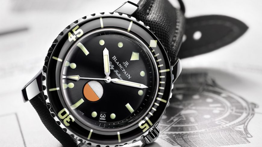 Blancpain Tribute To Fifty Fathoms Mil-Spec Watch Perfect Clone Online Shopping