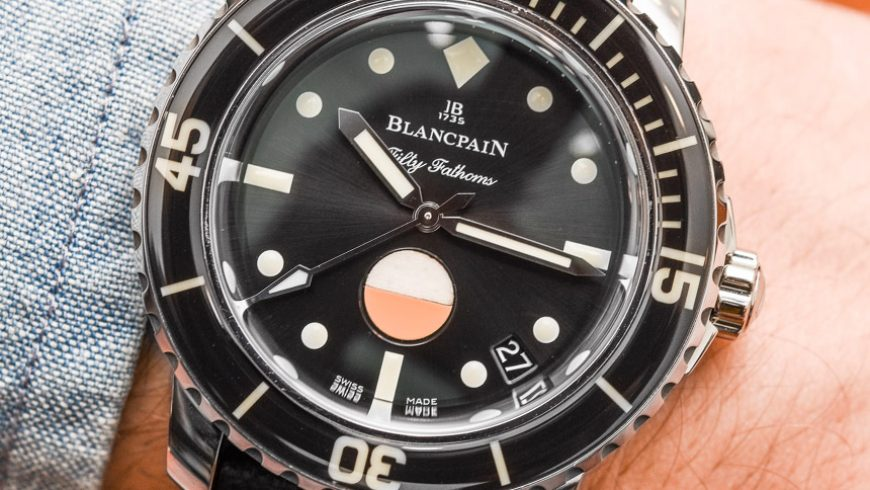 Blancpain Tribute To Fifty Fathoms Mil-Spec Watch Hands-On Replica Buyers Guide