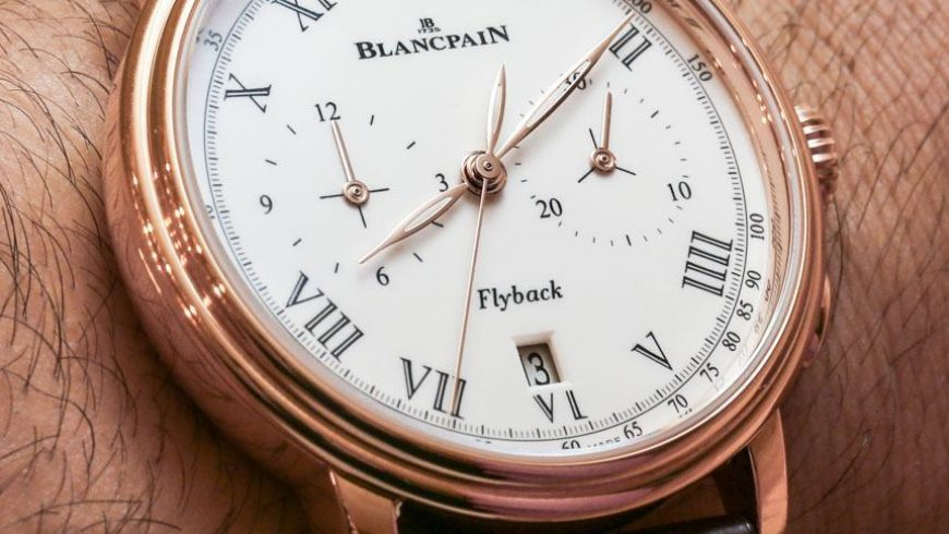 Blancpain Villeret Pulsometer Flyback Chronograph Watch Hands-On Replica Watches Young Professional