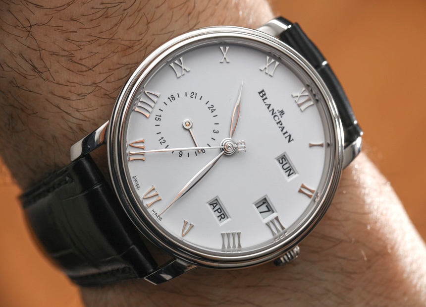 Blancpain Villeret Quantieme Annuel GMT Watch Hands-On Replica At Best Price