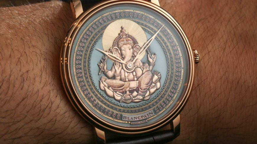 Blancpain Villeret Shakudo Ganesh & Coelacanth Engraved Dial Watches Hands-On Perfect Clone Online Shopping