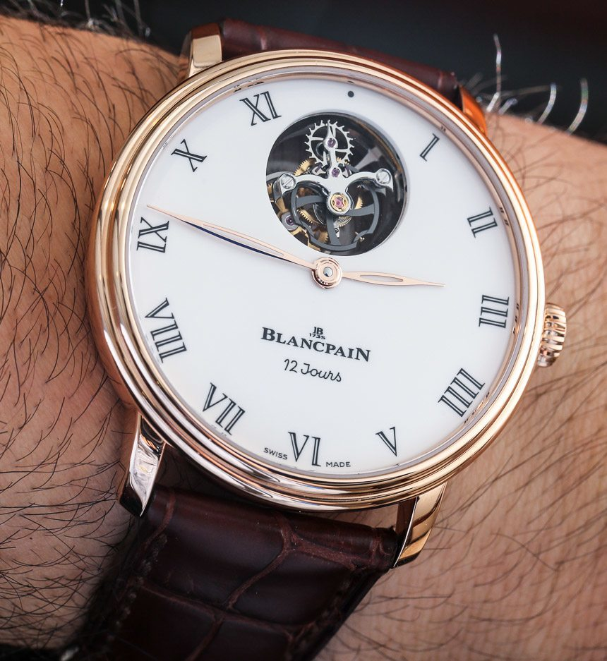 Blancpain Villeret Tourbillon Volant Une Minute 12 Jours Watch Hands-On Replica Buying Guide